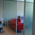 tek cam ofis içi bölme duvar