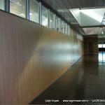 tamamı ahşap bölme duvar giyimkent ofis