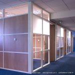 yatay camlı bölme duvar sistemleri
