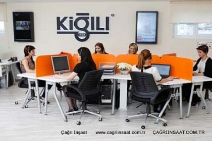 kiğili call center mobilyası