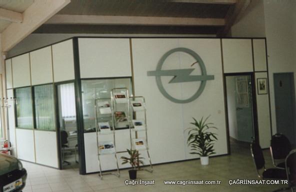 Opel bölme duvar sistemleri