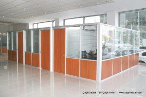 Modüler ofis bölme duvar sistemleri