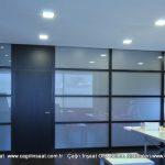 camlı ofis bölme duvar sistemleri