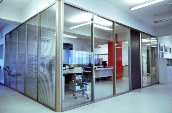 ofis cam bölme duvar sistemleri