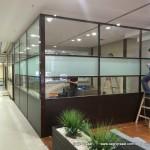 şeffaf ofis bölme sistemleri