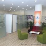 ara ofisler ve duvarlar