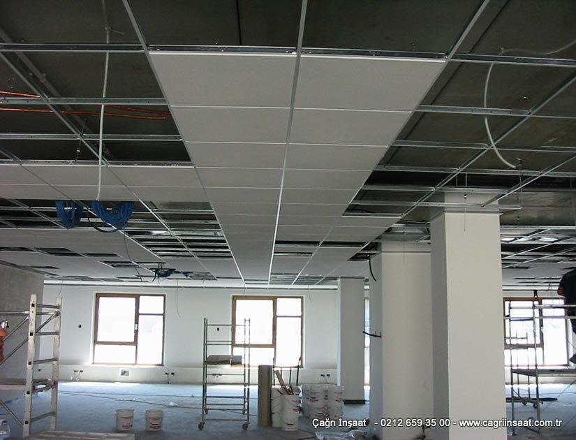 Çağrı İnşaat Metal Asma Tavan Sistemleri modelleri