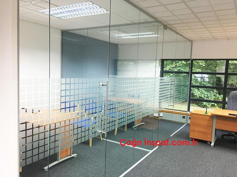 kristal ofis bölme