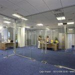 ofis bölme nasıl yapılır rodajlı cam bölme
