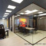 panel bölme ile oda ayırma boyalı ofis bölme profili
