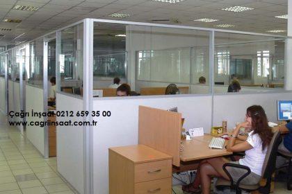 ofis cam+ahşap seperatör sistemleri