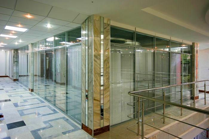Çağrı İnşaat Tam Camlı Ofis Bölme Sistemleri 3
