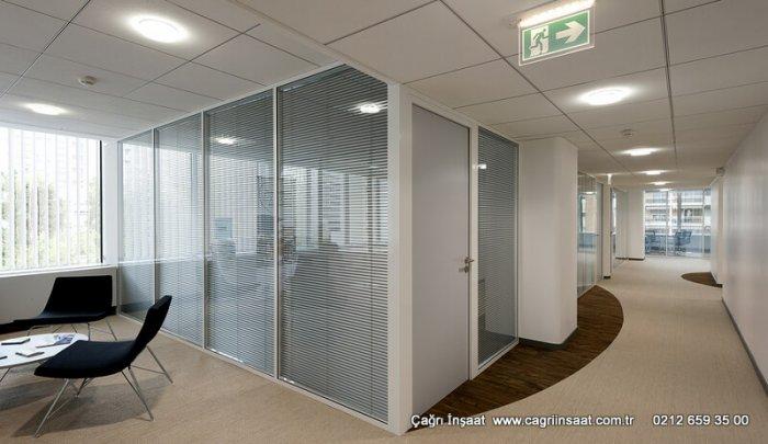 Toki Halkalı Ofis Bölme Sistemleri