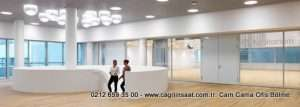 S-Line Ofisler Cam Bölme Sistemleri