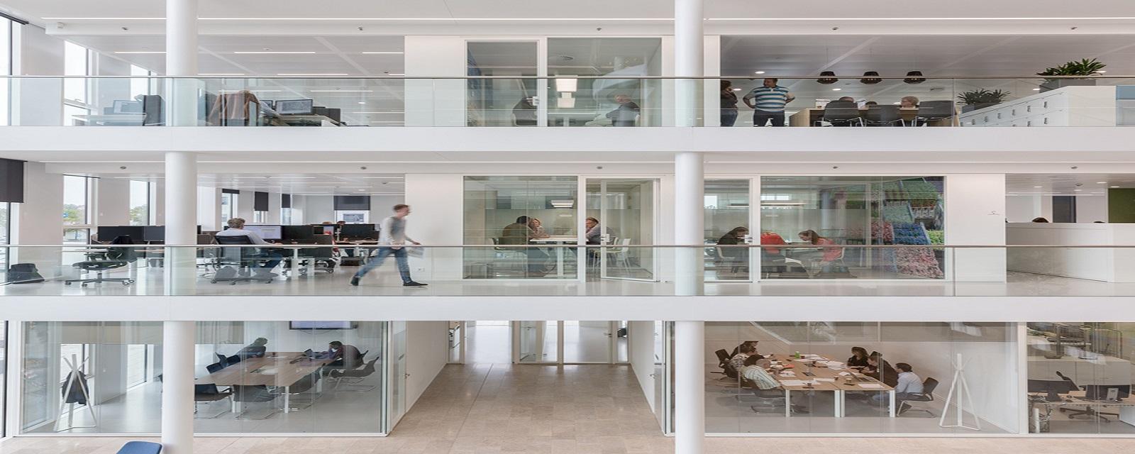 Çağrı İnşaat Ofis Bölme Sistemleri Tasarımı - Cam Bölme