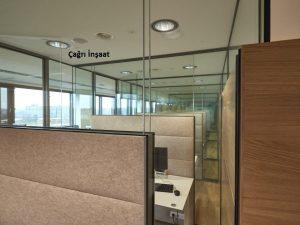Socar İstanbul Ofis Bölme